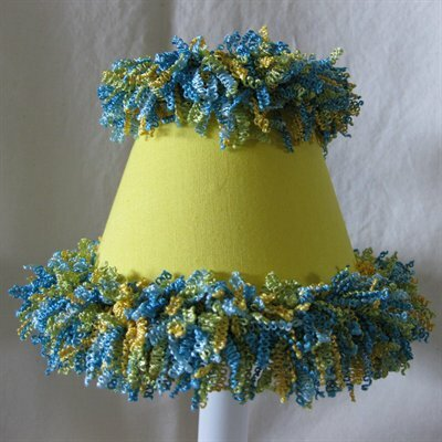 Ice Cold Lemonade 11 Fabric Empire Lamp Shade