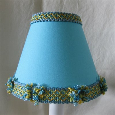 Pacific Wave 11 Fabric Empire Lamp Shade