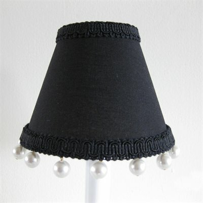Little Dress 5 Fabric Empire Candelabra Shade
