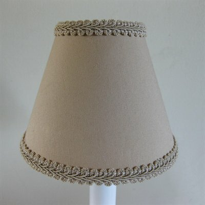 Count Chocula 5 Fabric Empire Candelabra Shade Color: Tan