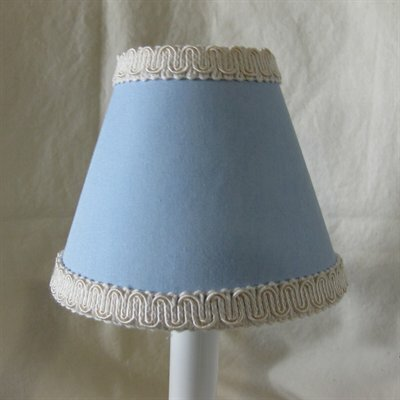 Pond Ripple 5 Fabric Empire Candelabra Shade