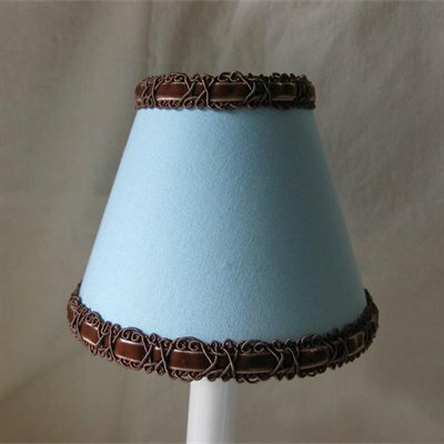 Teddy Time 5 Fabric Empire Candelabra Shade