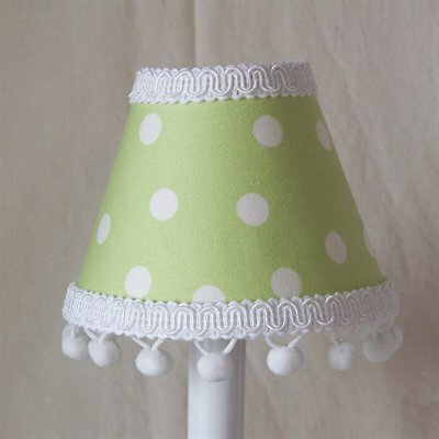 Jack and Beanstalk 5 Fabric Empire Candelabra Shade Color: Green