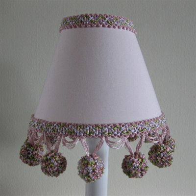 Tangy Tango 5 Fabric Empire Candelabra Shade Color: Pink