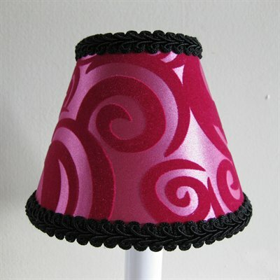 Rock Star 5 Fabric Empire Candelabra Shade