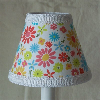 Daisy 5 Fabric Empire Candelabra Shade
