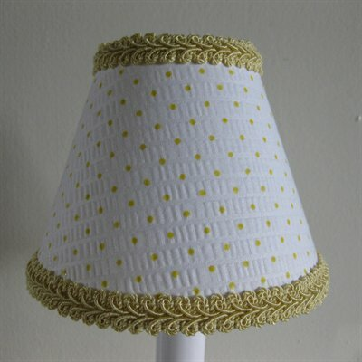 Suzie Sunshine 5 Fabric Empire Candelabra Shade