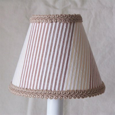 Sandy 5 Fabric Empire Candelabra Shade