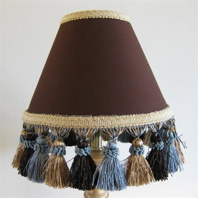 Butterscotch Sundae 11 Fabric Empire Lamp Shade