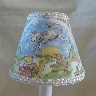 Nursery Rhyme 11 Fabric Empire Lamp Shade