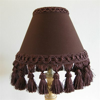Fudge Swirl Sundae 11 Fabric Empire Lamp Shade