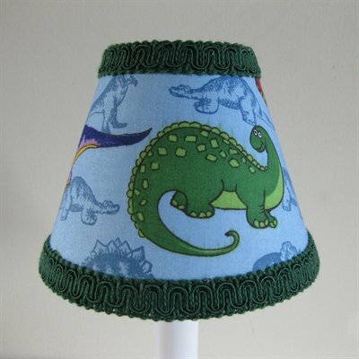 Prehistoric 5 Fabric Empire Candelabra Shade