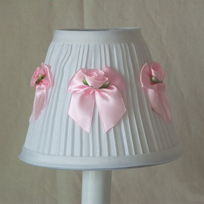 Bows All Around 5 Fabric Empire Candelabra Shade