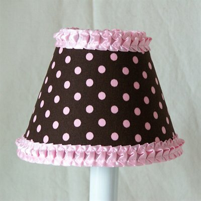 Strawberry Sprinkles 5 Fabric Empire Candelabra Shade