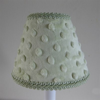 Icing on The Cake 5 Fabric Empire Candelabra Shade Color: Green