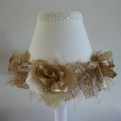 Shabby Tabby 11 Fabric Empire Lamp Shade