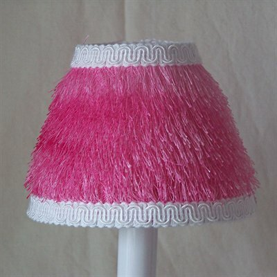 Thing 5 Fabric Empire Candelabra Shade Color: Pink