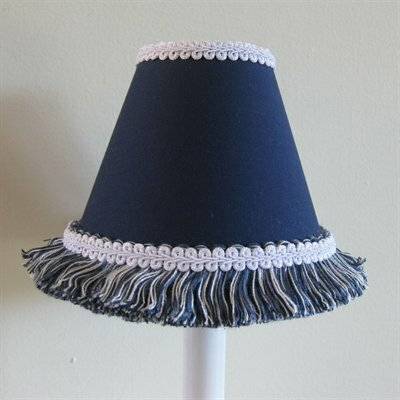 Night Sky 5 Fabric Empire Candelabra Shade Color: Dark Blue