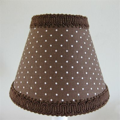 Dirt Bike Dot 11 Fabric Empire Lamp Shade