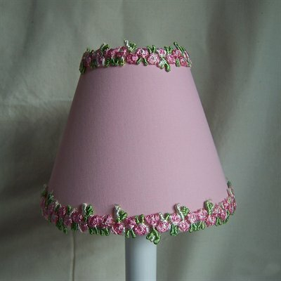 Sweet and Simple 5 Fabric Empire Candelabra Shade