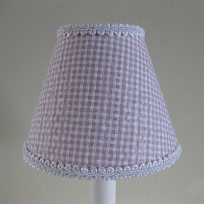 So Seersucker 11 Fabric Empire Lamp Shade Color: Lilac