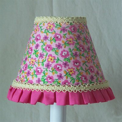 A Pocketful of Posies 5 Fabric Empire Candelabra Shade