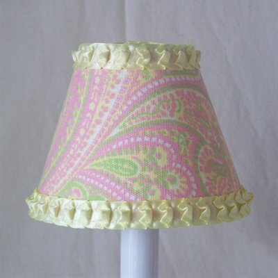 Perfect Paisley 11 Fabric Empire Lamp Shade