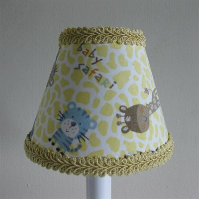 Animal Adventure 11 Fabric Empire Lamp Shade