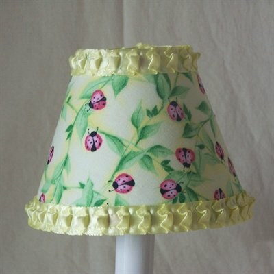 Lovely Bugs 11 Fabric Empire Lamp Shade
