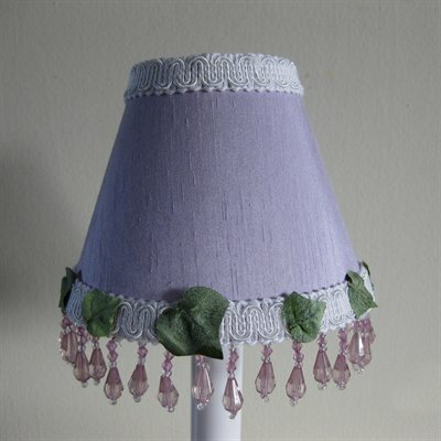 Fluttering Butterfly Purple 11 Fabric Empire Lamp Shade