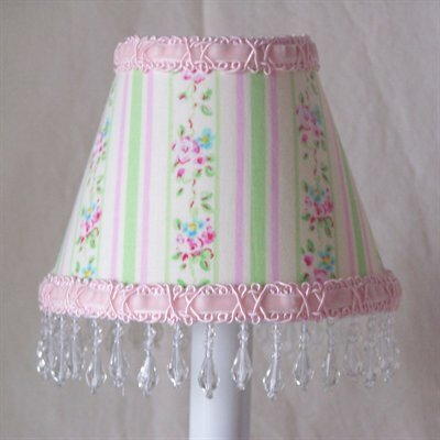 Striped Floral Night Light