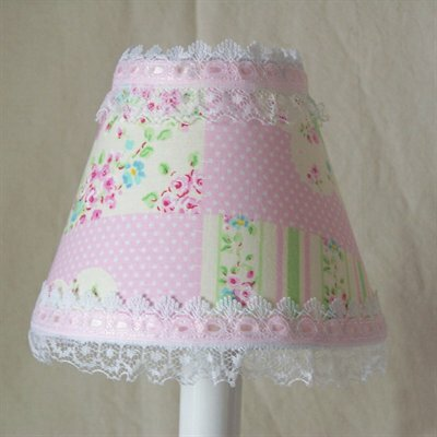 Petite Patchwork 11 Fabric Empire Lamp Shade
