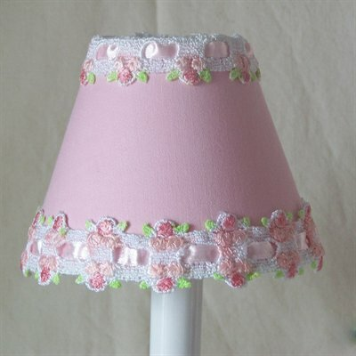 Pink Venise Lace Night Light