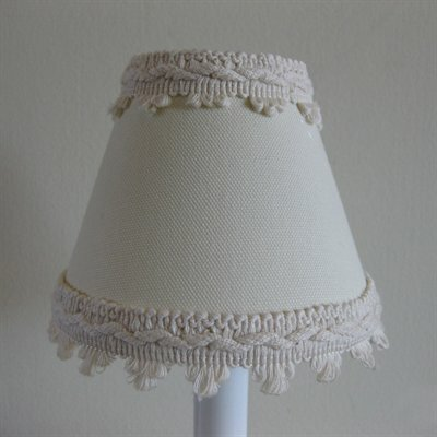 Vanilla Pudding 11 Fabric Empire Lamp Shade