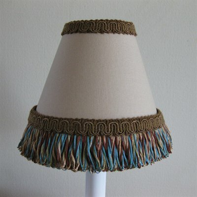 Western Outlaw 11 Fabric Empire Lamp Shade