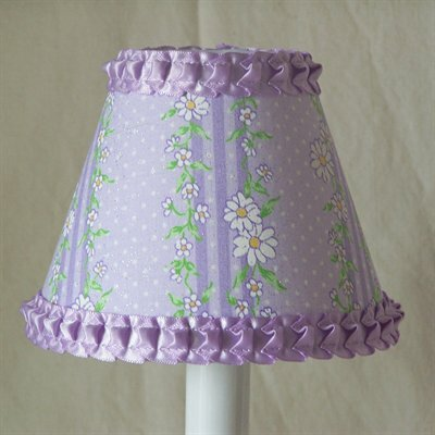 Shining Vines 5 Fabric Empire Candelabra Shade