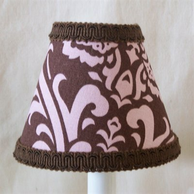 Darling Damask 11 Fabric Empire Lamp Shade