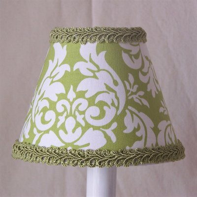 Avacado Damask 11 Fabric Empire Lamp Shade