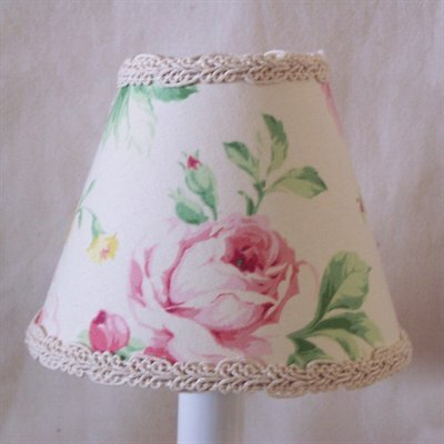 Song of Spring 5 Fabric Empire Candelabra Shade