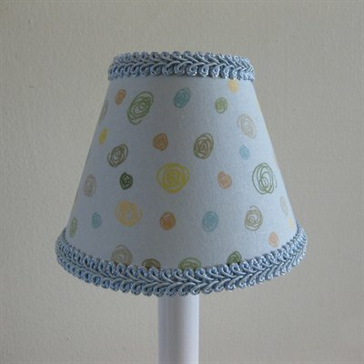 Elephant Ear 11 Fabric Empire Lamp Shade