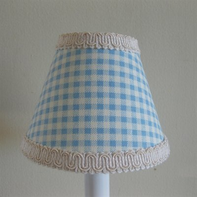 Boy 5 Fabric Empire Candelabra Shade