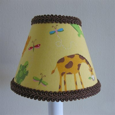 Animal Friends 5 Fabric Empire Candelabra Shade