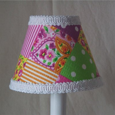 Patchwork Patterns 11 Fabric Empire Lamp Shade