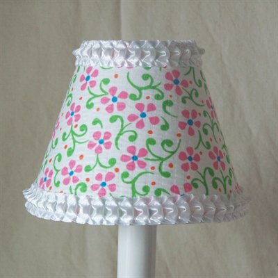 Playful Petals 11 Fabric Empire Lamp Shade