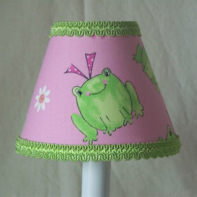 Leapin Frogs 11 Fabric Empire Lamp Shade