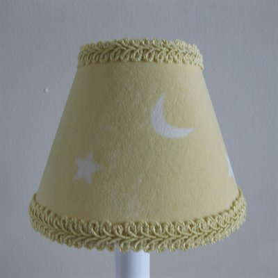 Good Night Sky 5 Fabric Empire Candelabra Shade