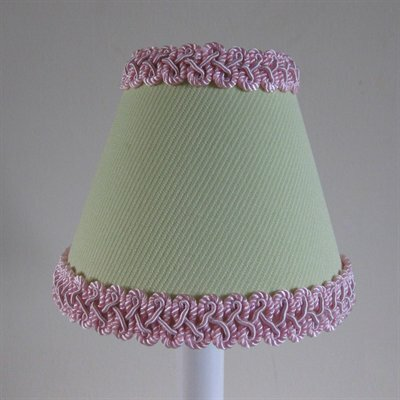 Pistachio Pudding 5 Fabric Empire Candelabra Shade