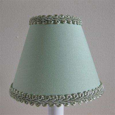 Sage Simplicity 5 Fabric Empire Candelabra Shade