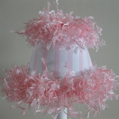 Sugar Candy 5 Fabric Empire Candelabra Shade