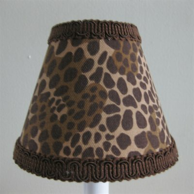 In the Wild 5 Fabric Empire Candelabra Shade